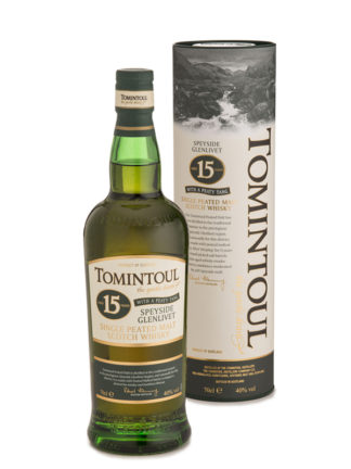 Tomintoul Peaty Tang 15 Year Old Single Malt Whisky