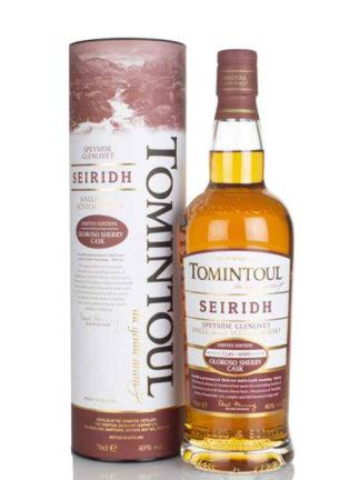 Tomintoul Seiridh Oloroso Sherry Cask Single Malt Whisky