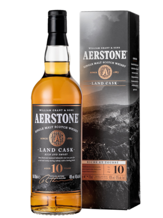 Aerstone 10 Year Old Land Cask Single Malt Whisky