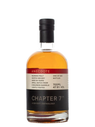Chapter 7 Anecdote #1 24 Year Old Blended Malt Whisky