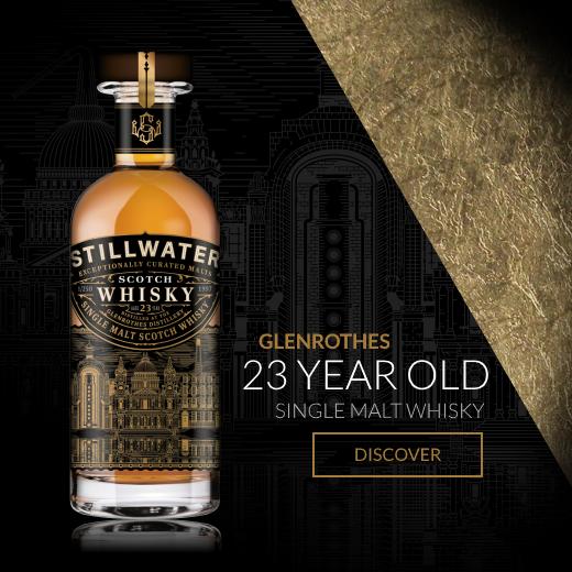 Stillwater Glenrothes 23 Year Old Single Malt Scotch Whisky Homepage Banner