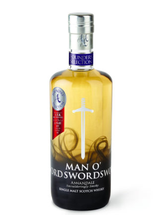 Annandale Man O'Swords Vintage 2017 S.T.R Cask Single Malt Whisky