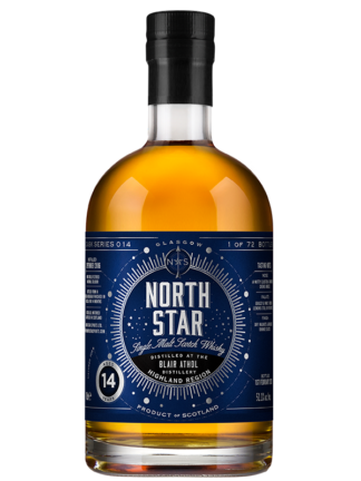 North Star Spirits Blair Athol 14 Year Old Single Malt Whisky