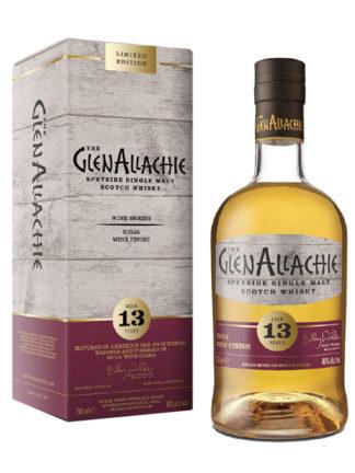 GlenAllachie 13 Year Old Rioja Wine Finish Single Malt Whisky