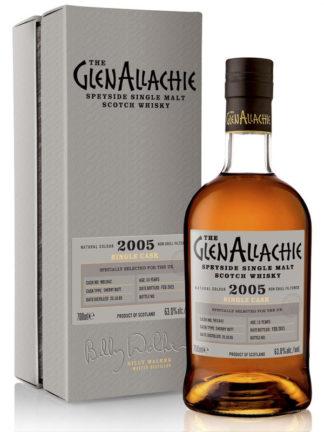 GlenAllachie 15 Year Old Sherry Butt Single Cask 2005 Single Malt Whisky