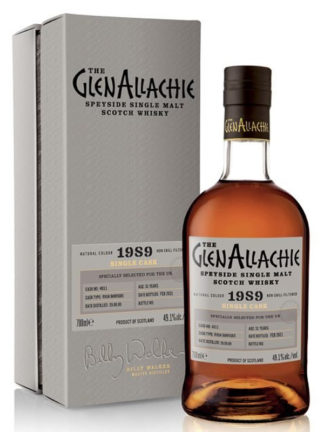 GlenAllachie 31 Year Old Rioja Barrique Single Cask 1989 Single Malt Whisky