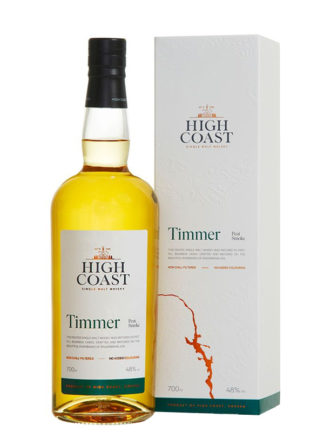 High Coast Timmer Peat Smoke Single Malt Swedish Whisky
