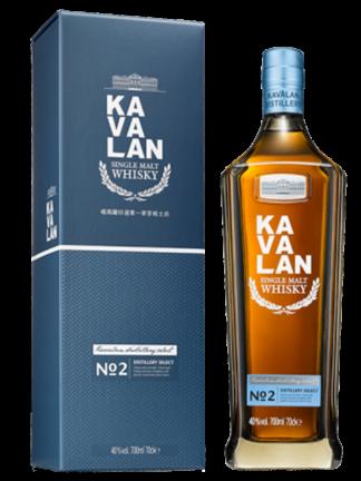 Kavalan Distillery Select No.2 Single Malt Taiwanese Whisky