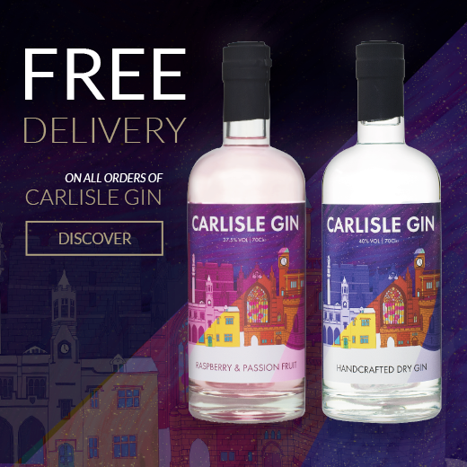 Carlisle Handcrafted Dry Gin Homepage Banner