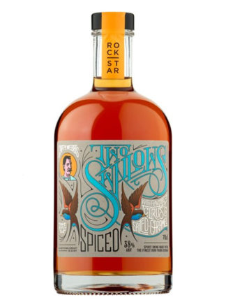 Rockstar Two Swallows Citrus and Salted Caramel 70cl